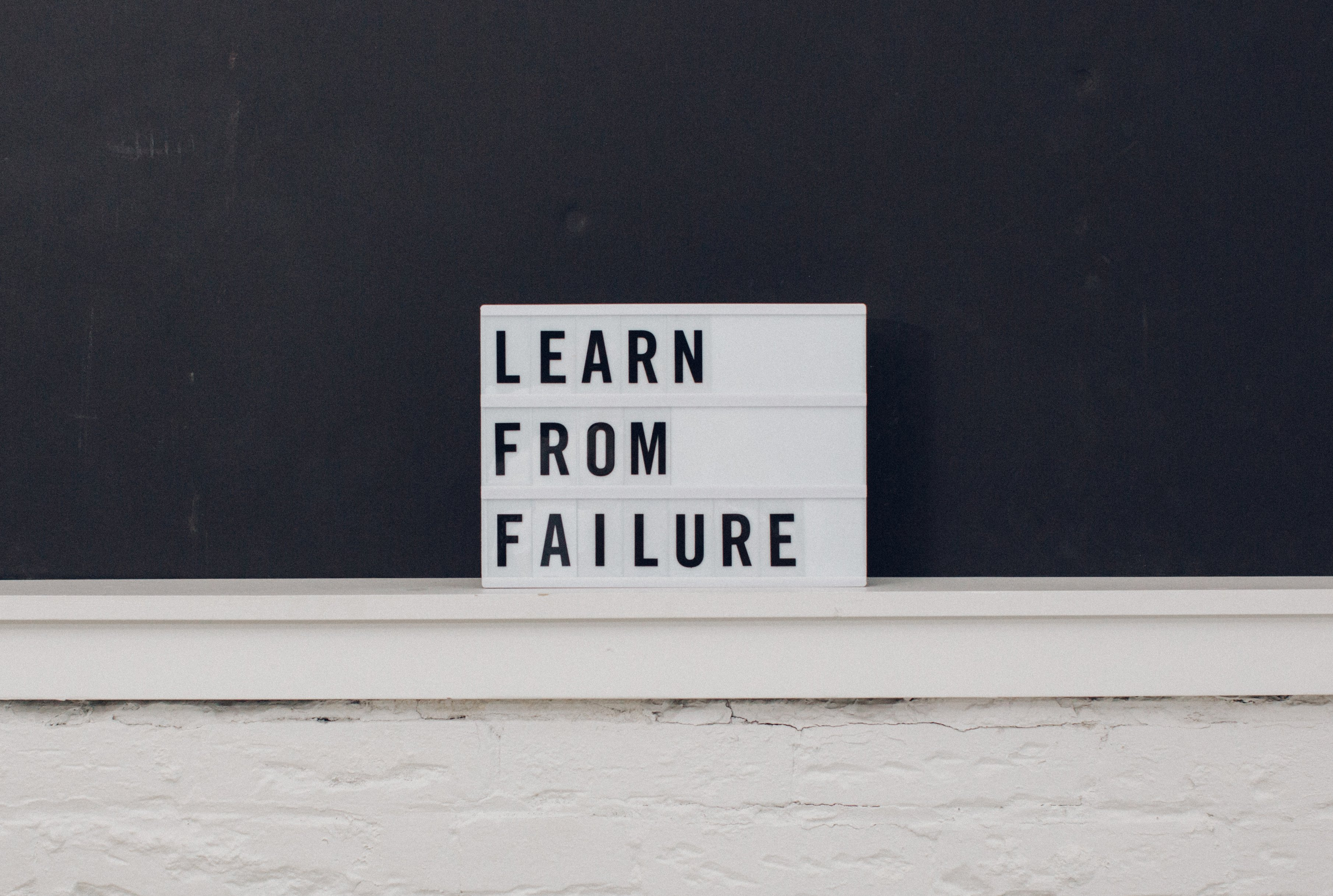 Are failures really failures?