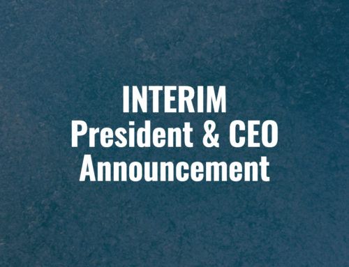 Interim President & CEO Announcement