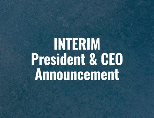Interim President & CEO Announcement