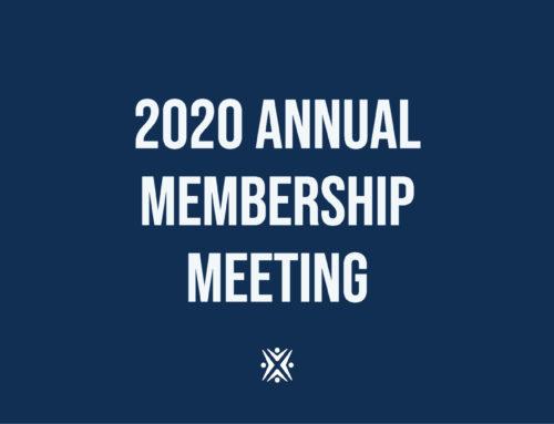 2020 Annual Member Meeting