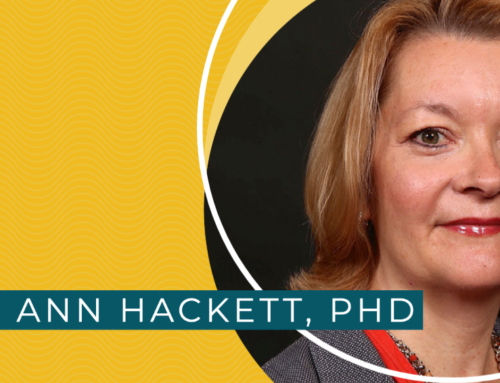 Meet Ann Hackett, PhD