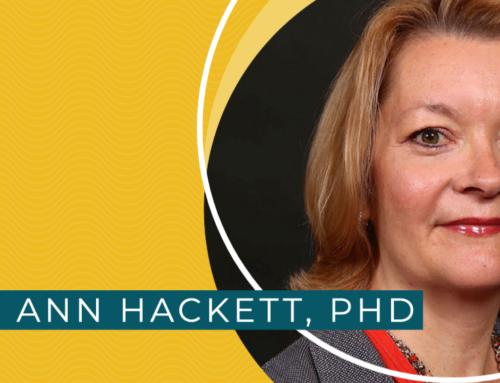 Meet Ann Hackett, PhD